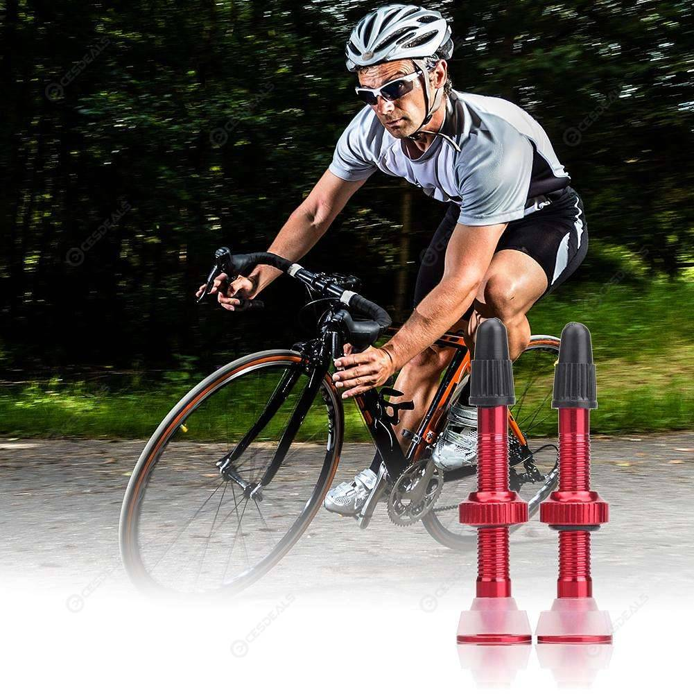 Bicycle Tubeless Presta Valve Stems MTB Road Bike  Tyre Accessories Extender