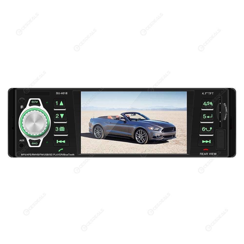 SWM 5513 LCD Auto Car Stereo MP3 Player FM Radio BT4.0 USB AUX RCA Autoradios