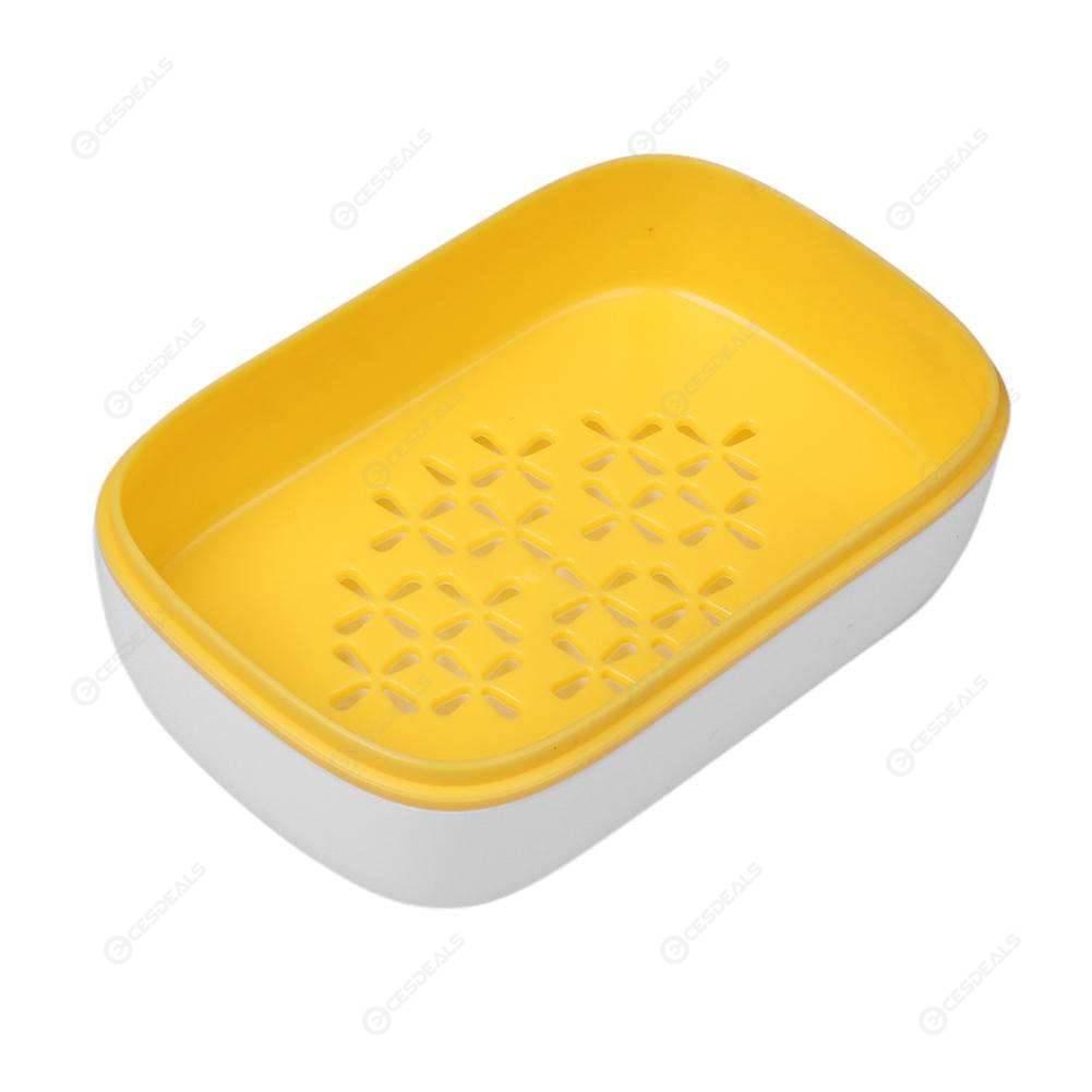 Ba/ño Organizaci/ón Producto Mini Caja de jab/ón de ba/ño del Plato de Ducha Plato Caso Inicio Viajes Soporte del contenedor
