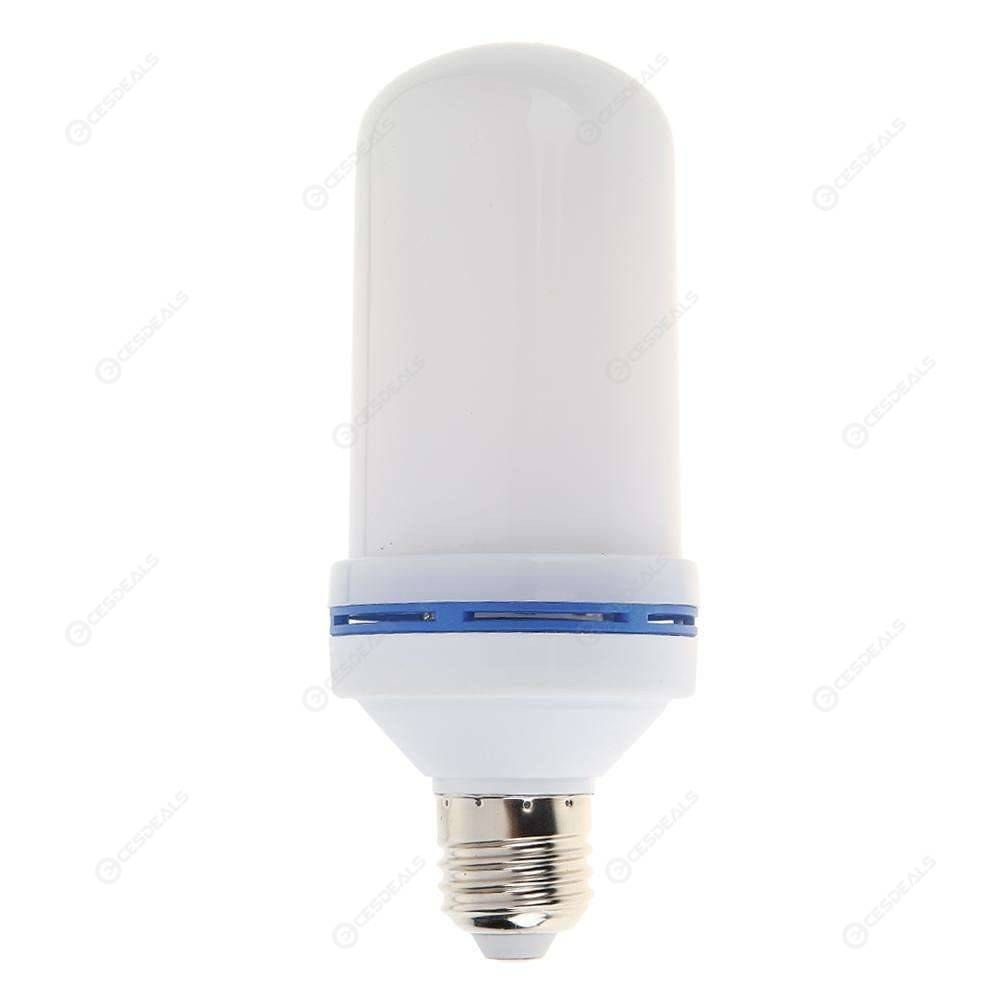 96 LED E27 Flame Effect Light Blub 3 Mode Fake Fire Flicker Emulation Lamp