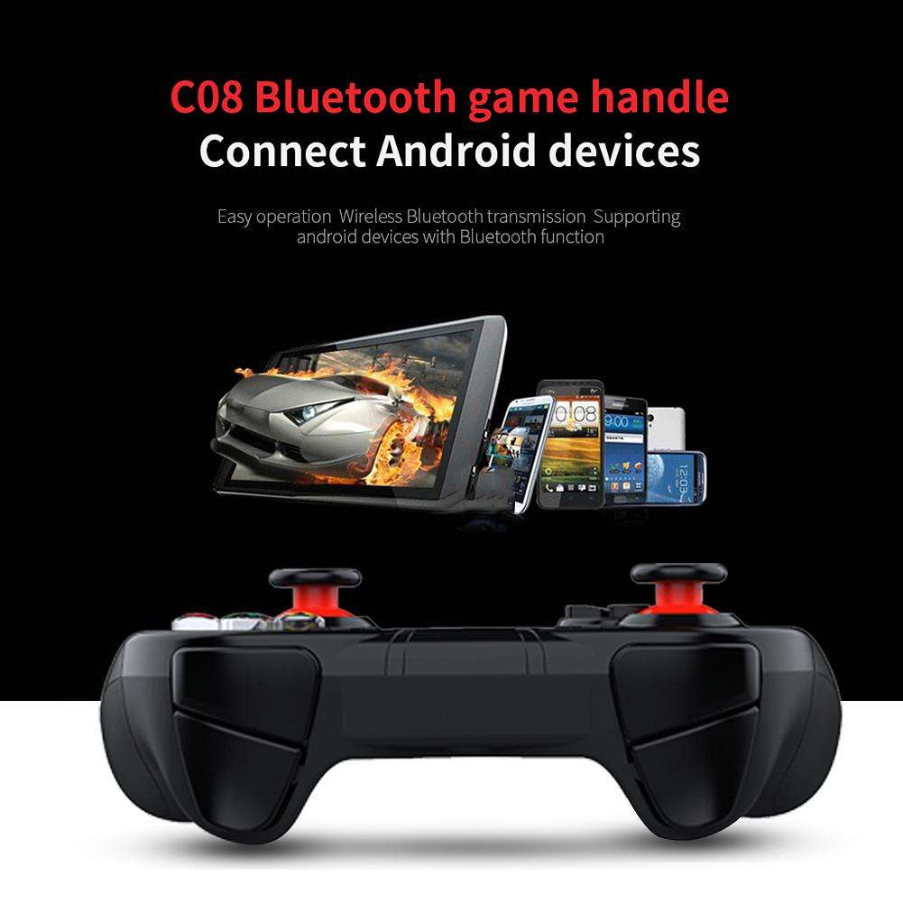 SHINECON SC-B04A Bluetooth Game Controller Gamepad Wireless Gaming Joystick
