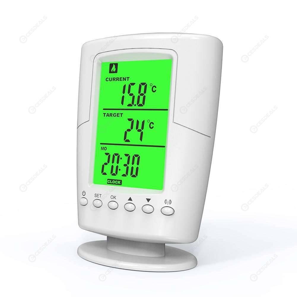 Programmable Wireless Thermostat Socket Home Temperature Control Socket (EU