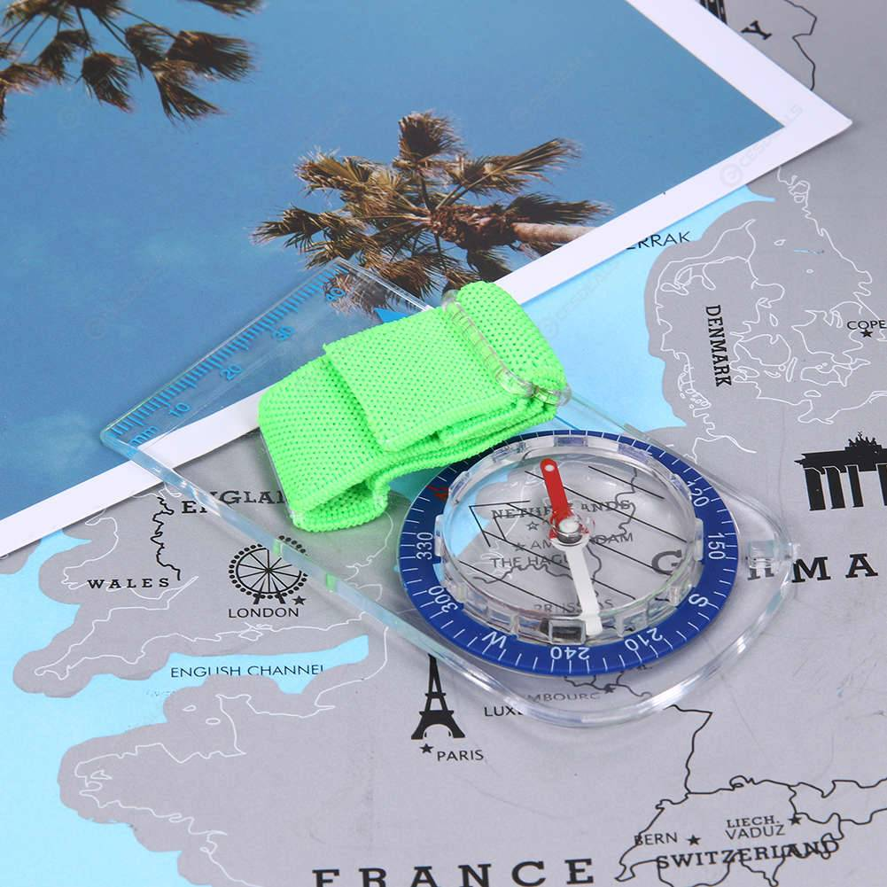Outdoor Professional Thumb Compass Elite Competition Orienteering Compass Portab
