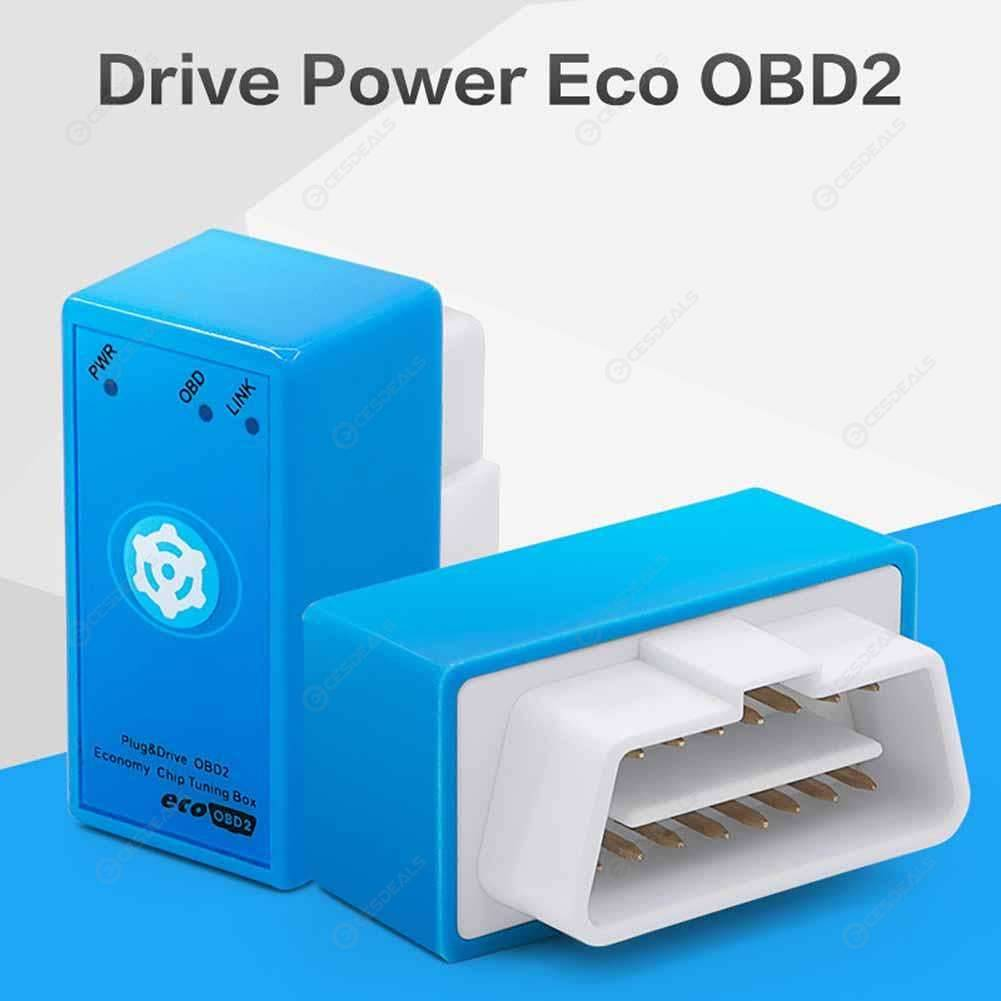 Drive Power Eco OBD2 Diesel Cars Chip Tuning Box Power Plug w/Reset Button