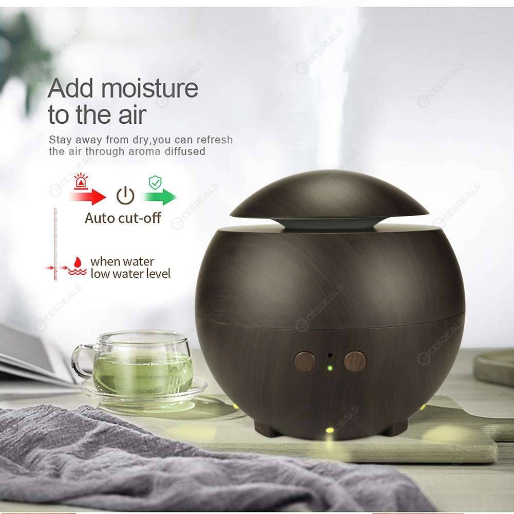 Ultrasonique Huile Essentiel Aroma Diffuseur air Humidificateur Aromathérapie Purificateur UK