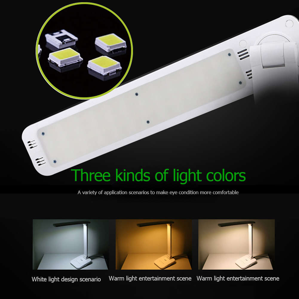 Dp De Led 116 Protection Touch Lampe Pli Lampes Switch 3 Eye Modes Lumineux Bureau lFTcK1Ju3