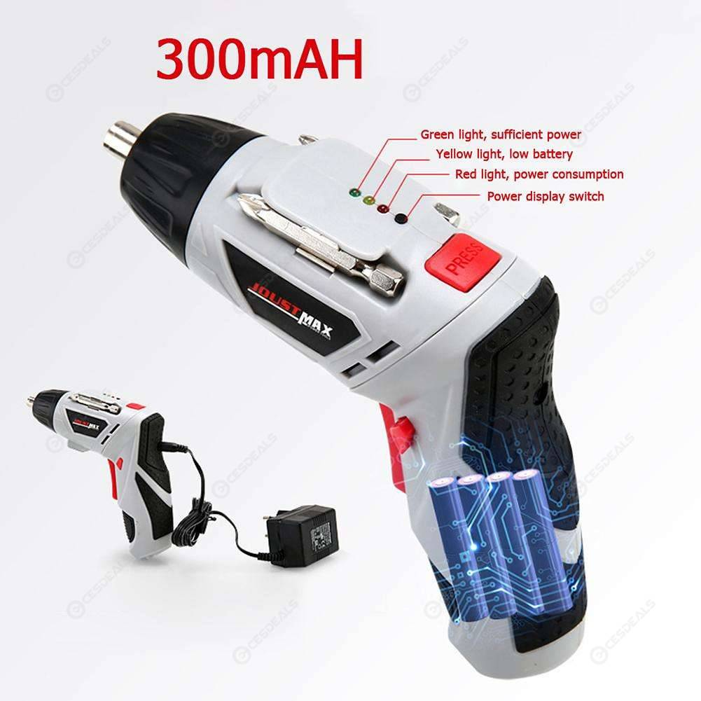 Handheld Electric Screwdriver Set Household Lithium-Ion Rechargeable Drill