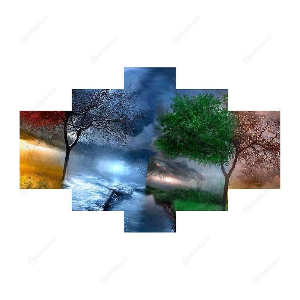 taladro completo tortuga oc/éano DIY 5D Kit de pintura de diamante por n/úmero diamantes de imitaci/ón bordados,cuadros de punto de cruz manualidades para decoraci/ón de la pared del hogar,30 x 40 cm