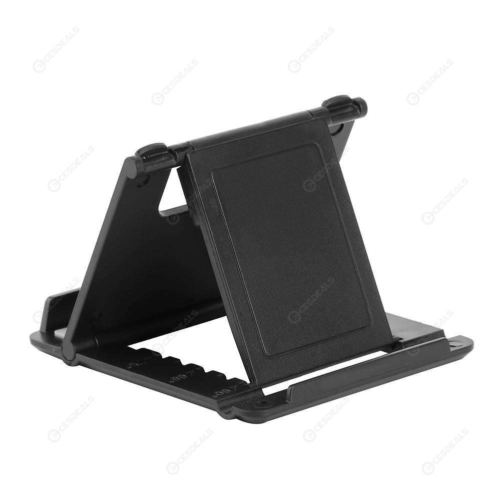 Angle Adjustable Phone Holder Stand Folding Bracket for 5-10inch Tablet