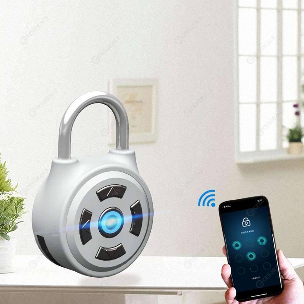 Bluetooth Padlock Electronic Wireless Lock Keyless APP Control Password
