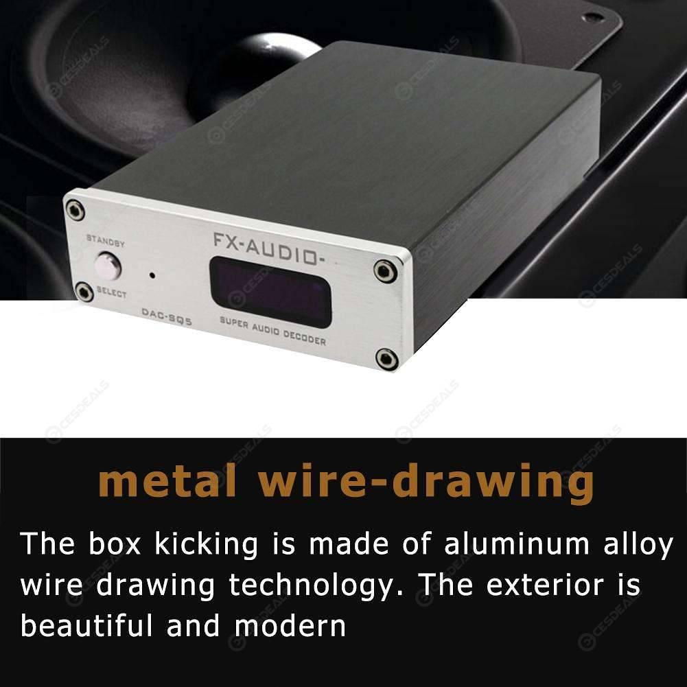 FX-Audio DAC-SQ5 HiFi USB DAC Audio Decoding Amplifier