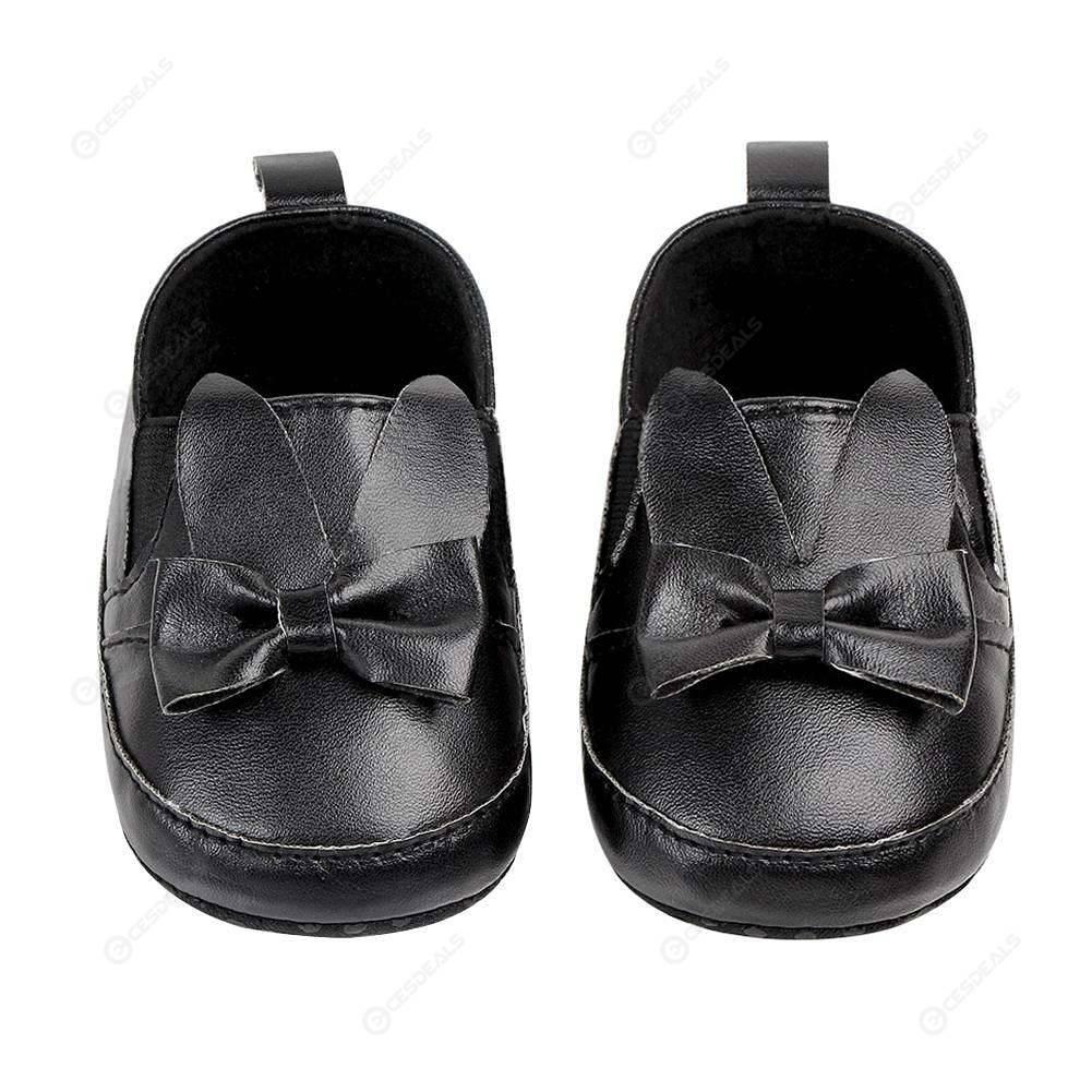 Baby Girl Newborn Toddle Cartoon Floral Outdoor Prewalker Waterproof Shoes