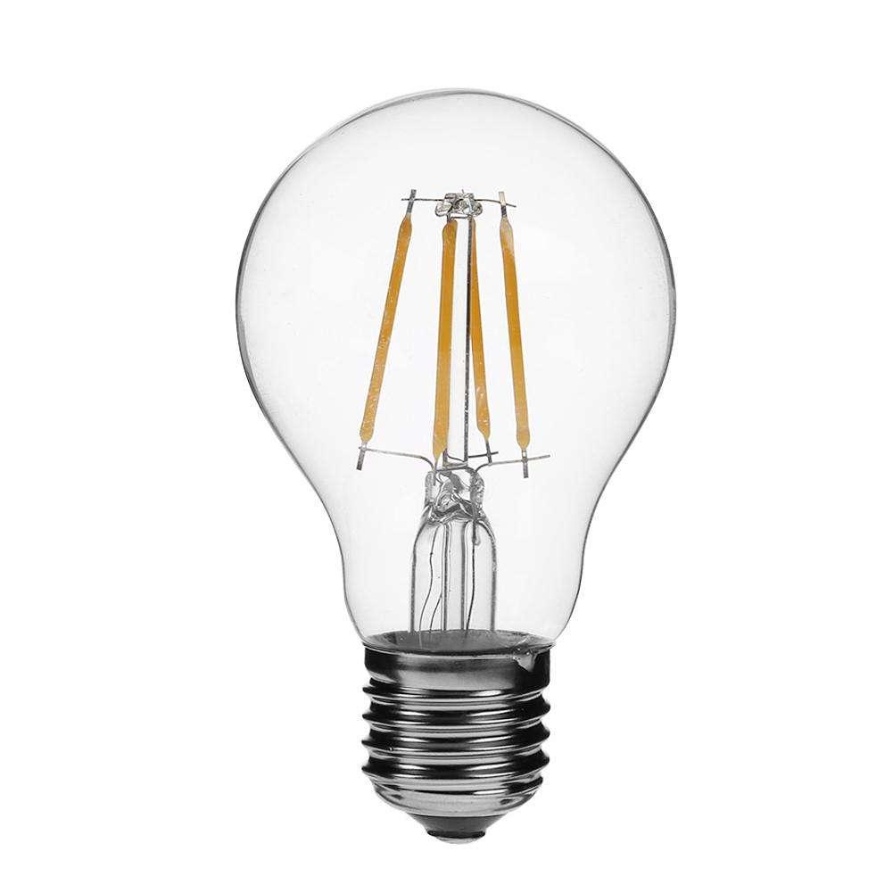 A19 Led Filament Bulb Nostalgic Edison Style 4w To Replace: 4W LED Filament Edison Lamp Retro Chandelier Replace