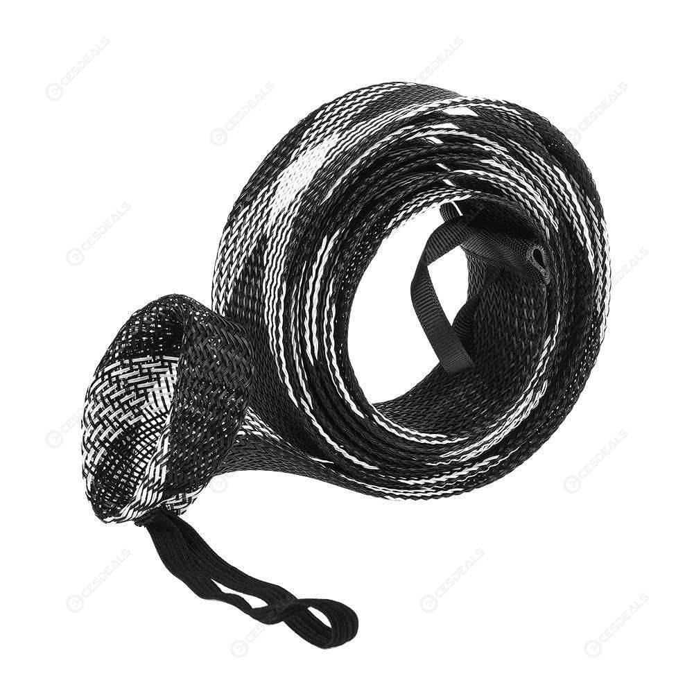 Mesh Wrap Casting Fishing Rod Sleeve Cover Pole Glover Tip Protector Bag(3)
