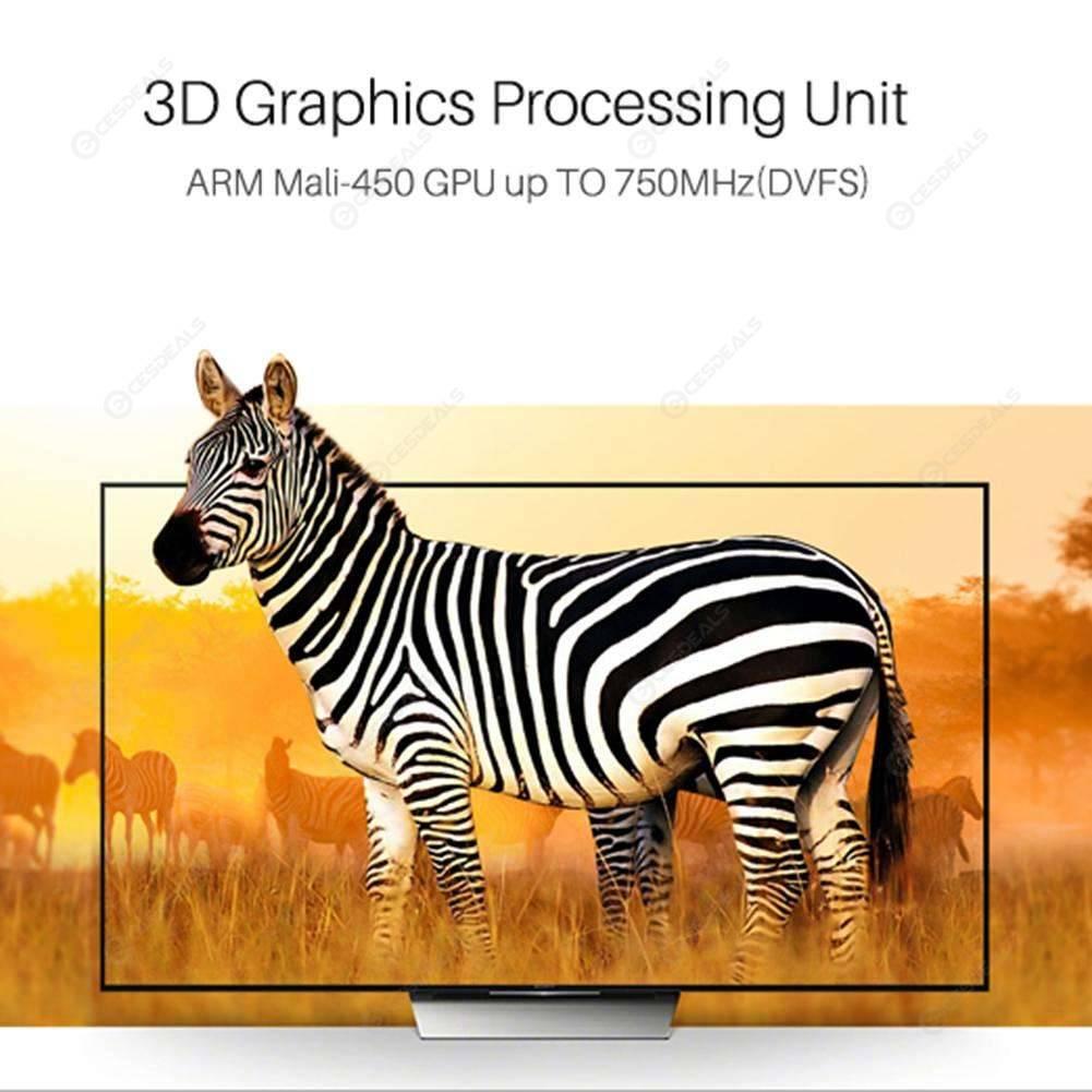 M8s Plus W Smart TV Box Android 7.1 Quad Core 2GB+16GB Media Player (US)