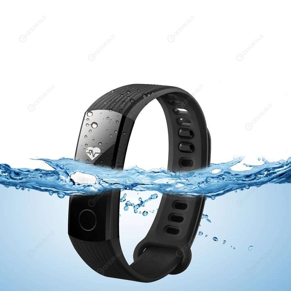 Huawei Honor Band 3 Smart Bracelet Waterproof Heart Rate Message (Black)