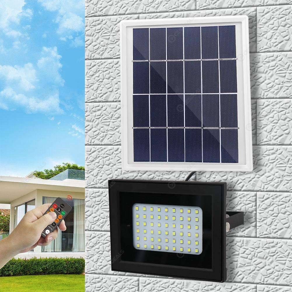 54 Led Remote Control Waterproof Solar Lamp Outdoor Light Without Bracket