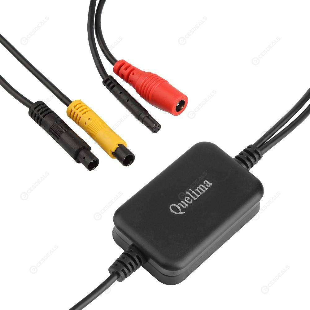 2 Channel Car Camera Video Converter Switch Front Side Rear View Control Box CMB