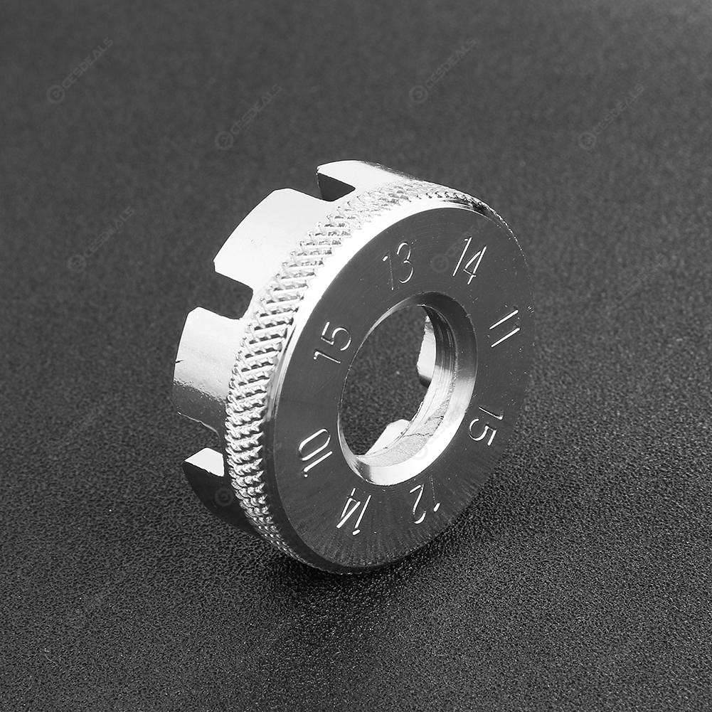 Bicycle spoke wrench tool 8 Way Spoke Nipple Key Bike Cycling Wheel Rim Spanner