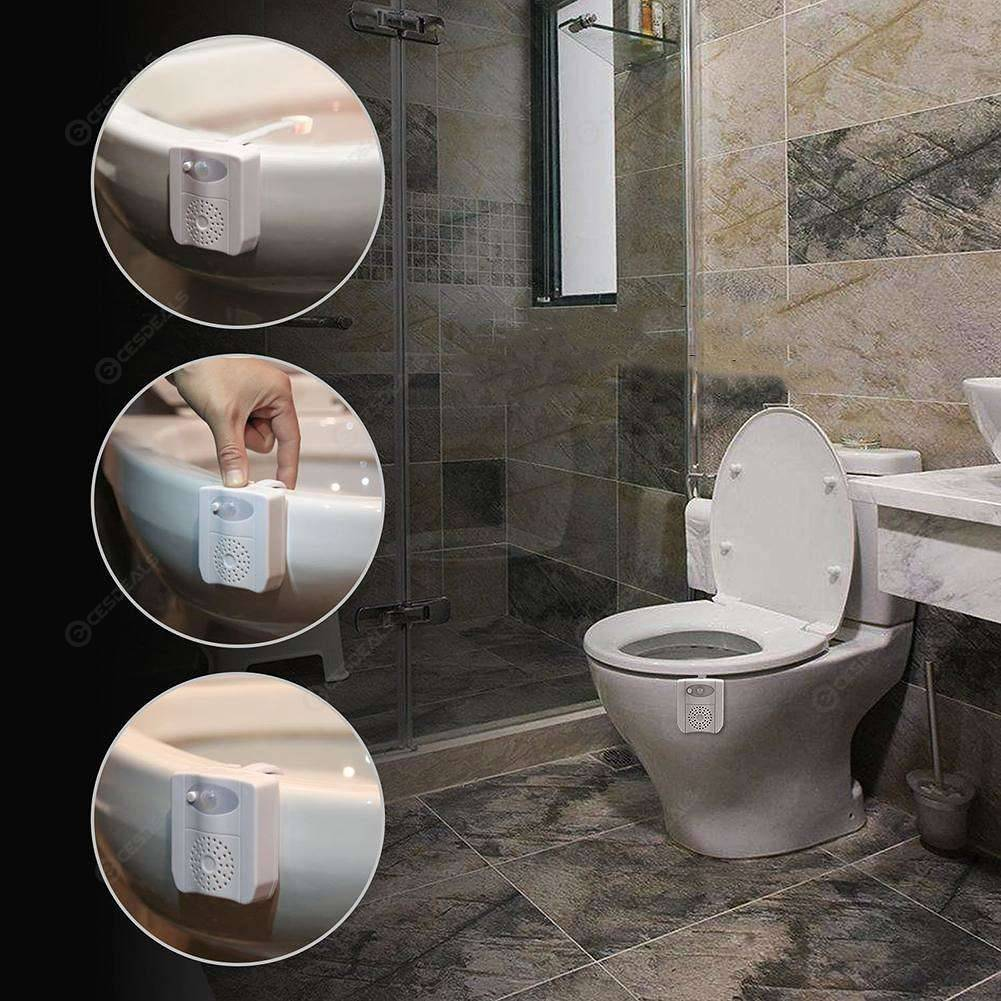 Astonishing Bathroom Toilet Seat Lamp 16 Colors Sensor Backlight Aroma Night Lights Beutiful Home Inspiration Xortanetmahrainfo