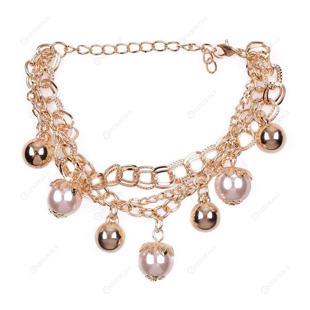 Multi-layer Coin Disc Anklet Charm Foot Chain Women Charm Anklet Jewelry Gift G