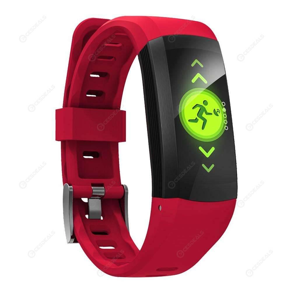baf5f9b70 S906 GPS deporte 0,96 pulgadas IP68 impermeable pulso Monitor elegante  pulsera ...