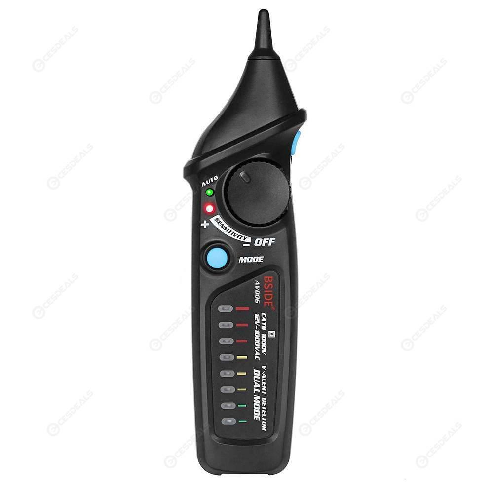 BSIDE Non-Contact AC 12-1000V Voltage Detector LED Light Voltage Test Pen