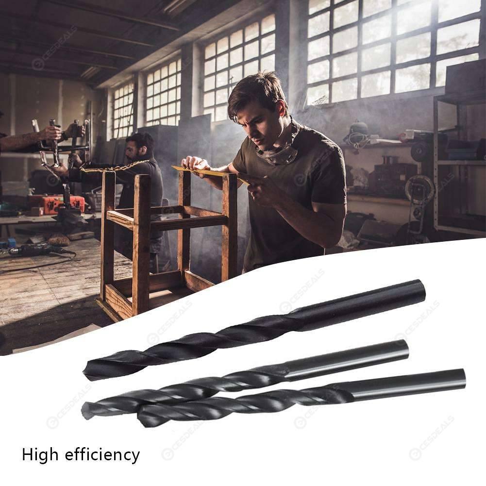 100pcs 1mm-5mm Nitrided HSS Twist Drill Bit Set for Woodworking Hole Opener