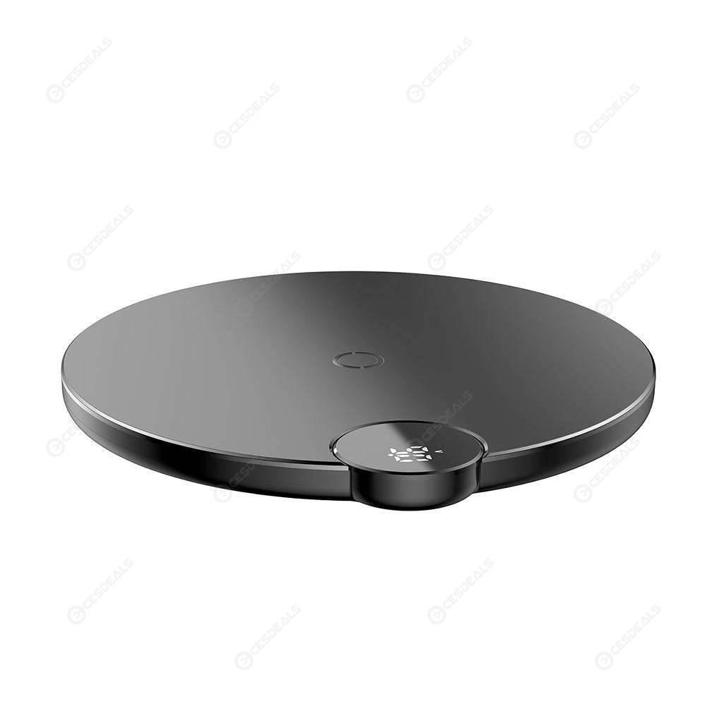 34c38becb1f Baseus Digital pantalla cargador sin hilos carga Pad para iPhone X XS XS  Max ...
