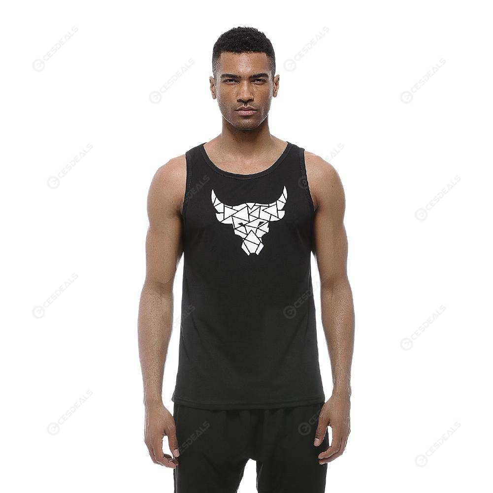 Mens Outdoor Sport Puerto Rico Tank Top Vest T-Shirt Fast Drying Tee