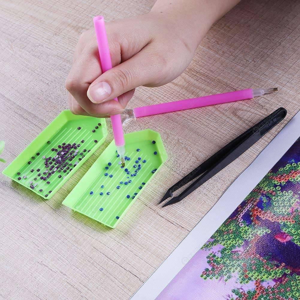 5D DIY Full Drill Diamond Painting Cat Cross Stitch Embroidery Craft Kits