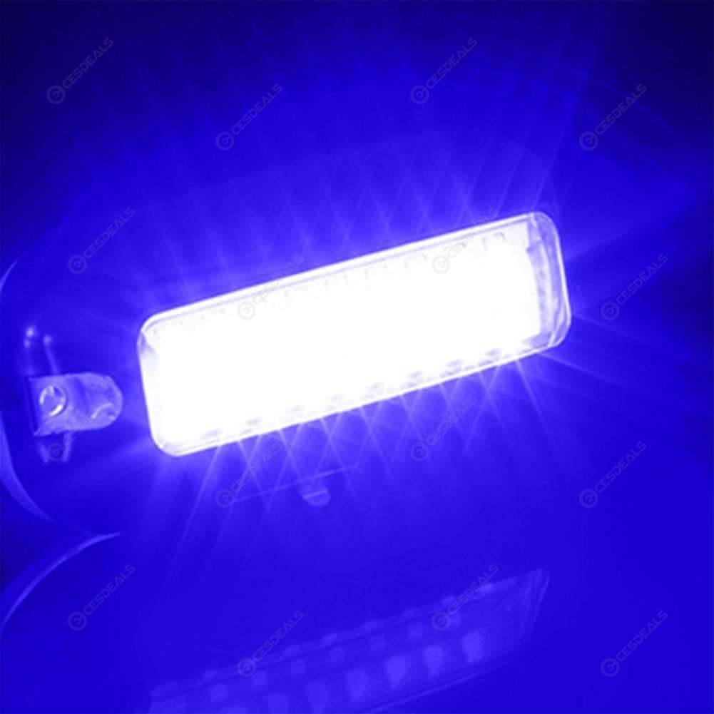 3.5W 12V 27LED Underwater Pontoon Marine Boat Transom Light Stern Lamp Blue