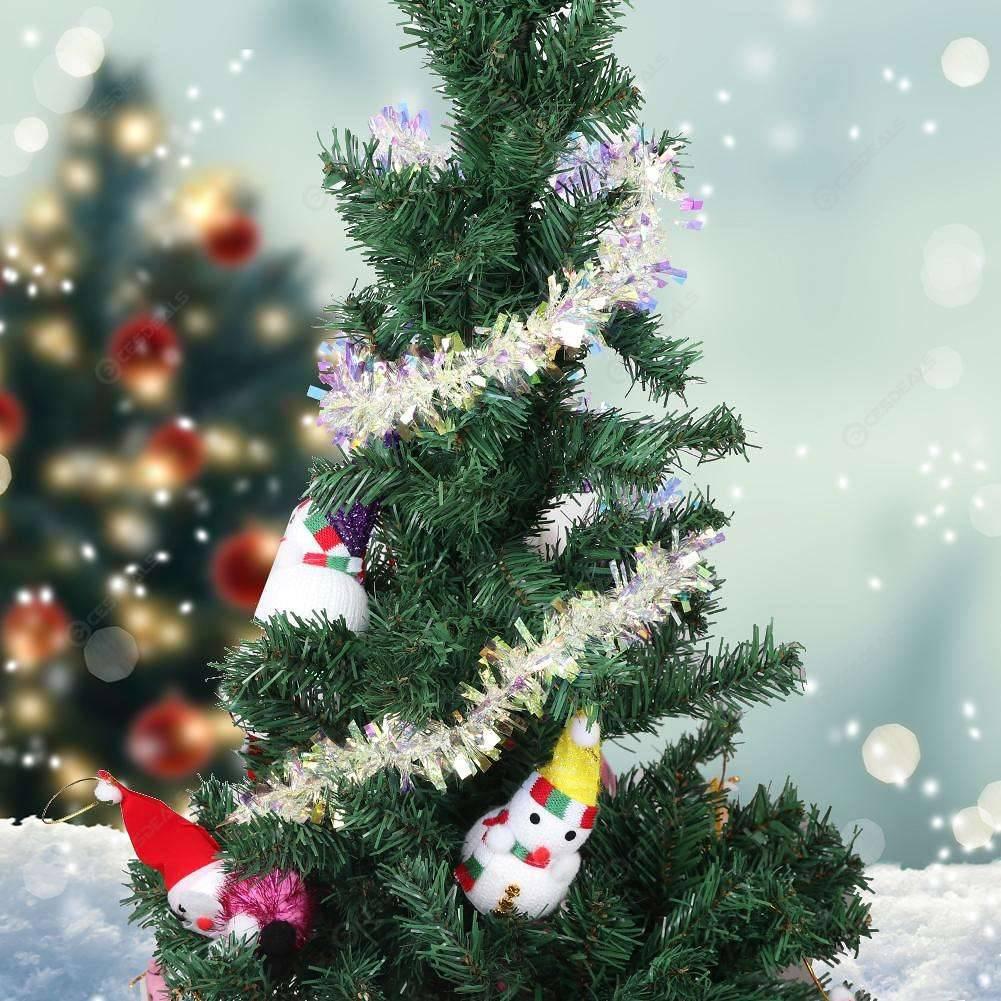 Christmas Tree Bar Tops Ribbon Garland Diy Ornament Tinsel Decor Wide 2m