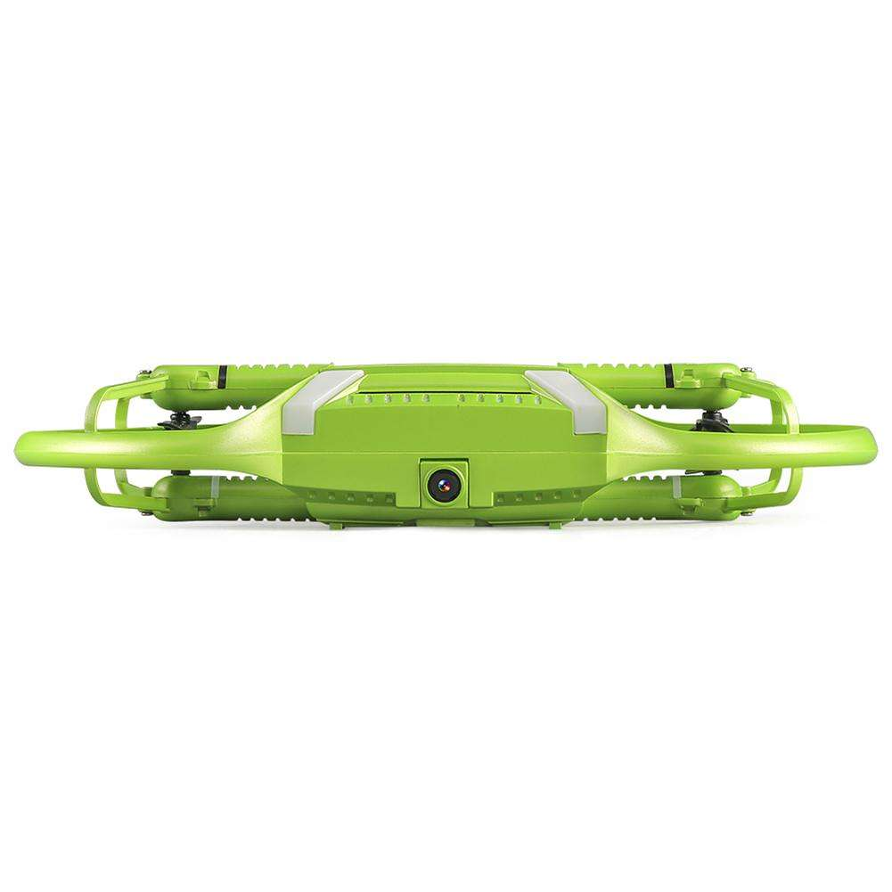 JJRC H60 Mini RC Drone WIFI FPV Foldable HD Camera Quadcopter Kit (Green)