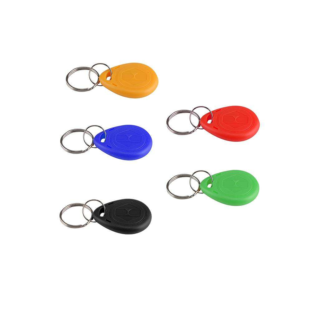 Copy Writable EM ID Keyfobs RFID Tag Key Ring 125KHZ Duplicate Card (5pcs)