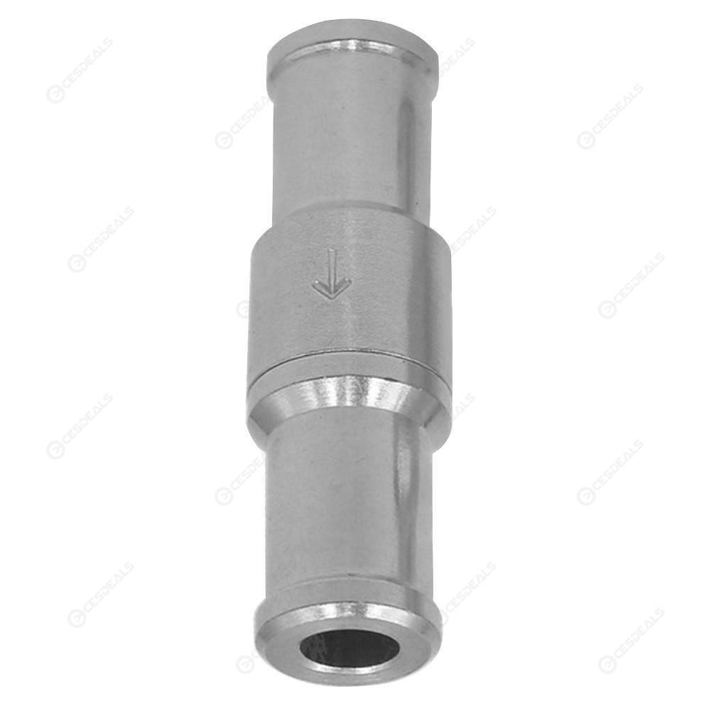 1x 12mm One Way Fuel Non Return Check Valve Petrol And Diesel Oil