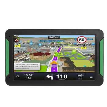 S7 7 Inch Touch Screen Car Truck GPS Navigation GPS Navigator (Europe)
