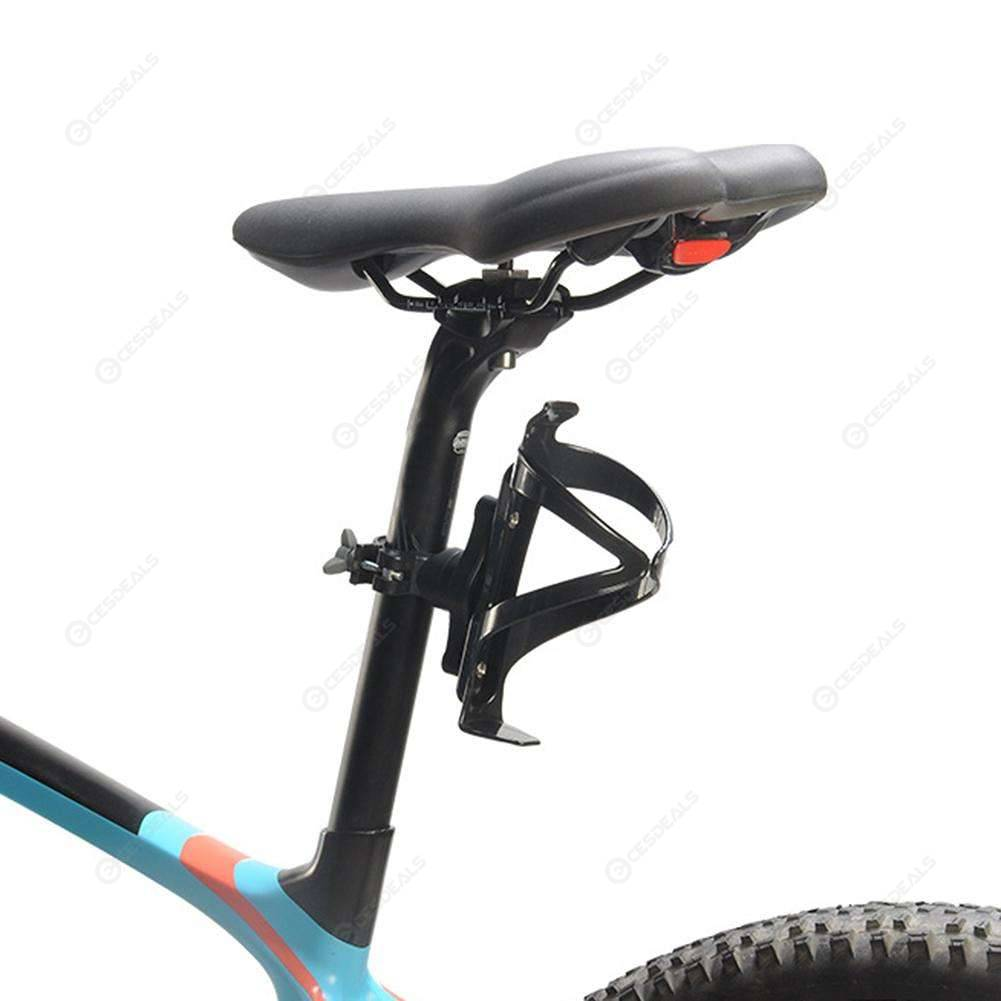 Bicycle 360 Degree Rotating Water Bottle Holder Nylon Bike Drink Cup Rack Cage