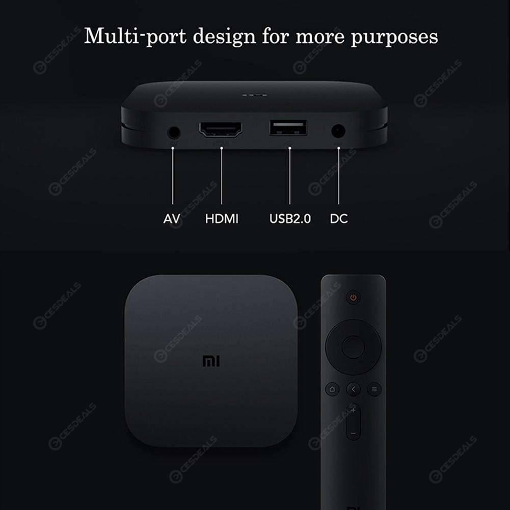 Xiaomi Mi Box S 4K HD Android 8.1 QuadCore Portable Media Player EU PLUG