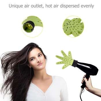 Plastic Hand Shape Hair Dryer Diffuser Salon Hairdress Curly Styling Tools