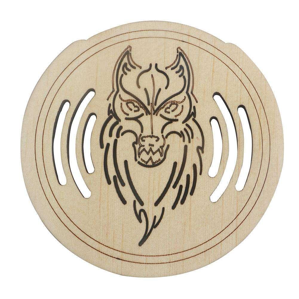 guitar mahogany wood soundhole sound hole cover block for guitar parts us online shopping. Black Bedroom Furniture Sets. Home Design Ideas
