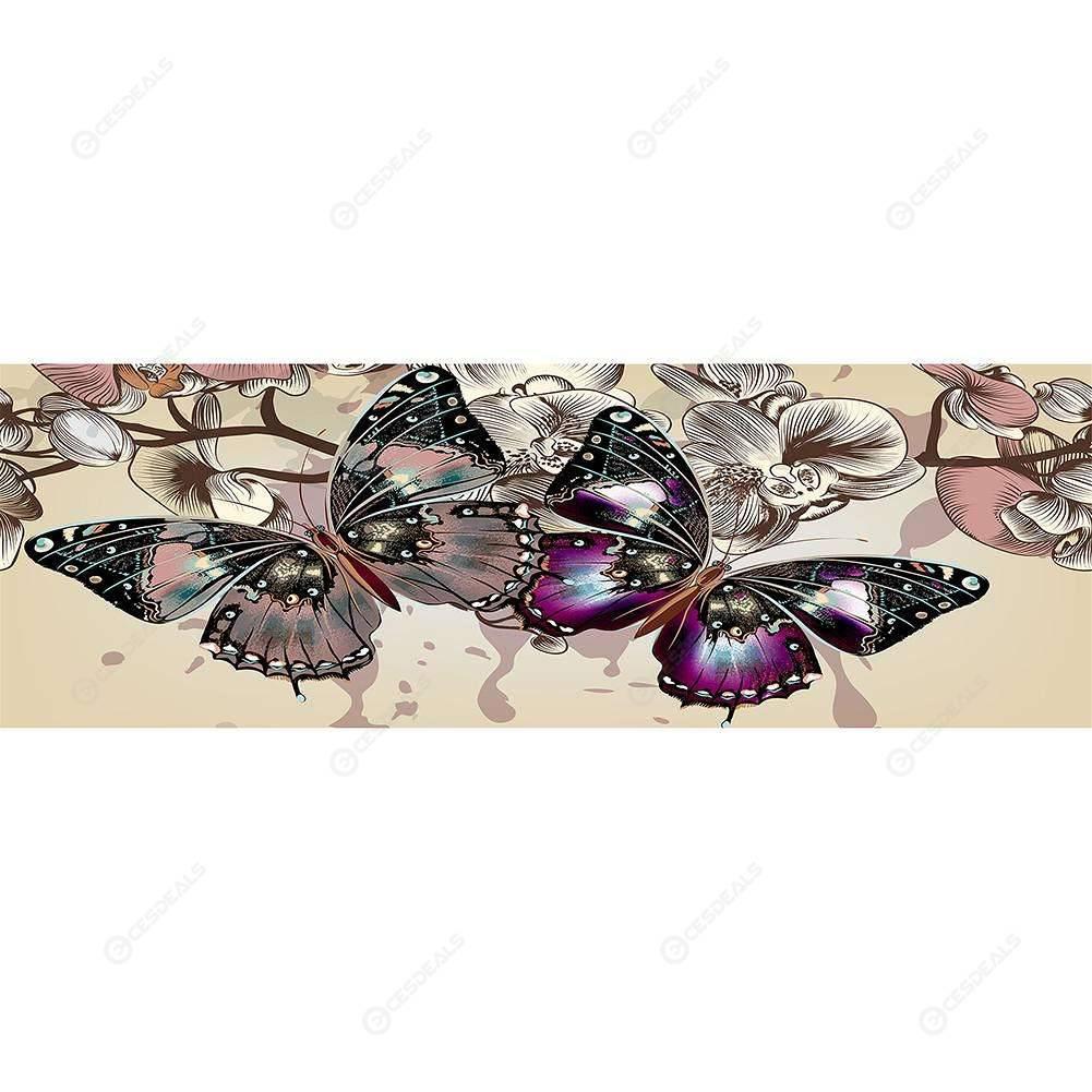 Butterfly Skull Picture Cube DIY Diamond Embroidery Rhinestone Diamond Xmas Gift