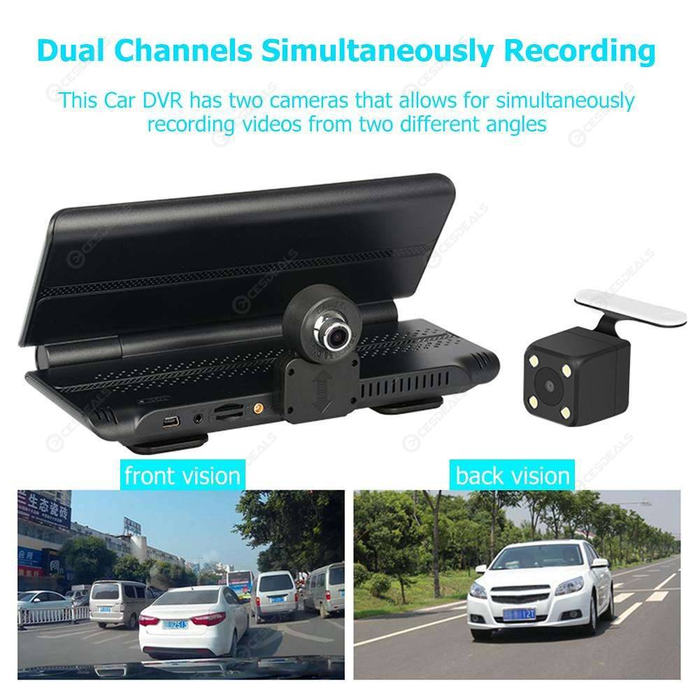 Phisung K6 Center Console 7in Android 5.1 4G Car DVR Camera GPS (No TF)
