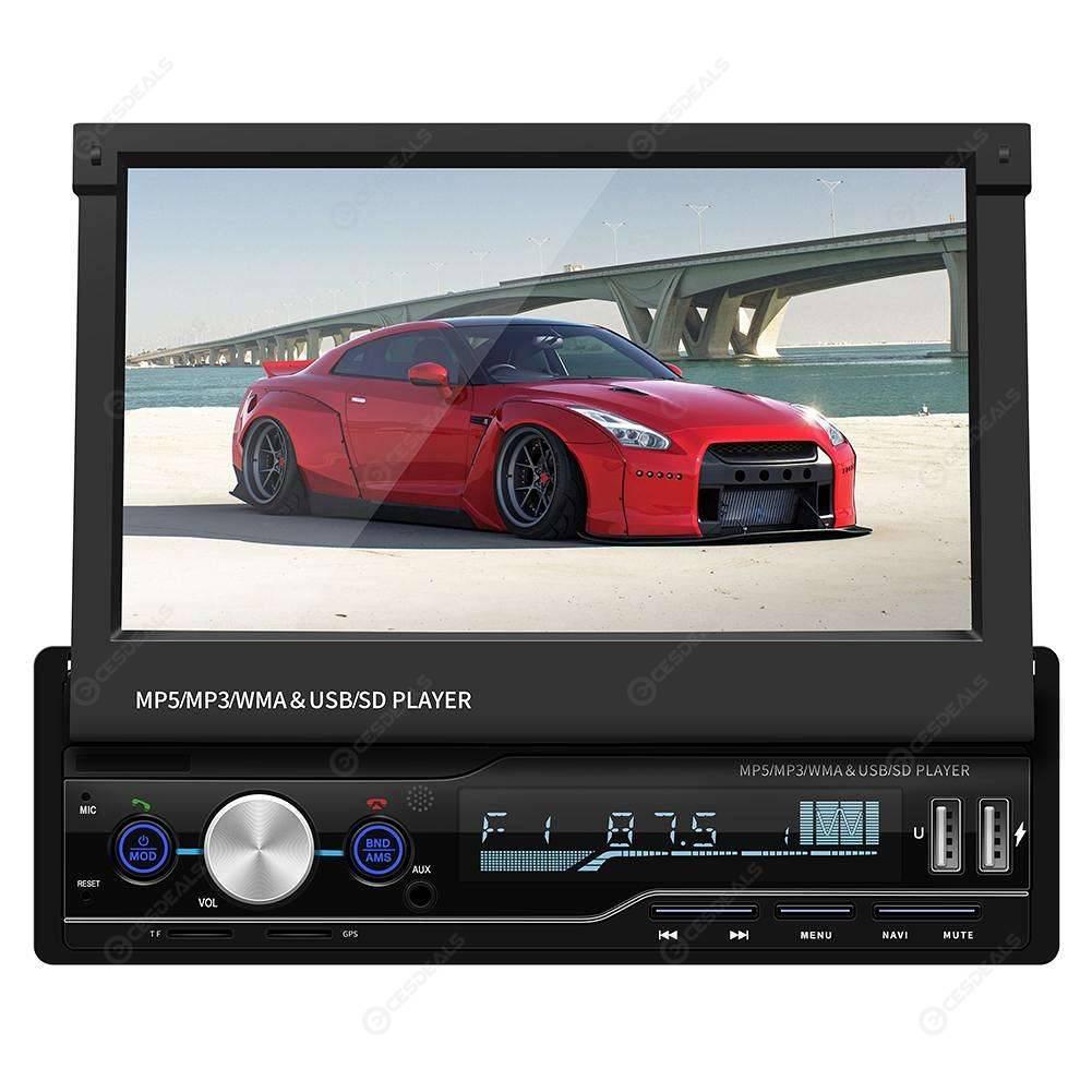 "7/"" Coche MP5 Player BT pantalla táctil estéreo radio GPS Navigatio RDS USB"