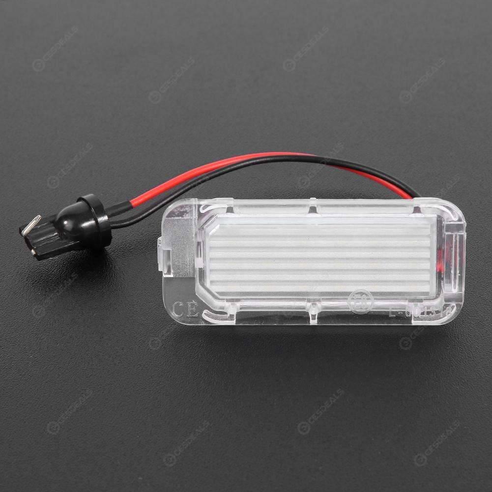 Juego de 2 Luces LED para matr/ícula de Coche para Focus 5D//Fiesta//Mondeo MK4//C-Max MK2 XuBa 12 V