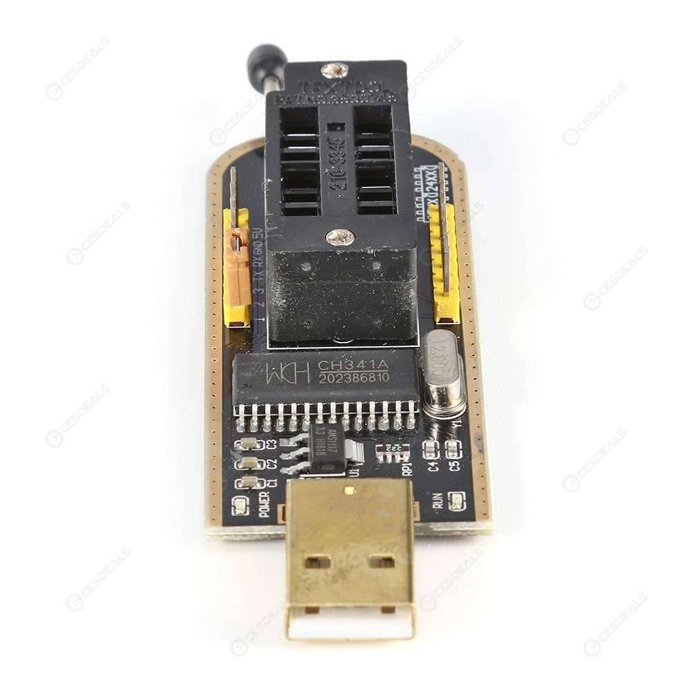 CH341A Programmer 24 25 Series EEPROM Flash BIOS USB Writer Recorder Module