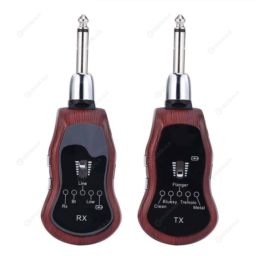 Guitar Wireless System Transmitter+Receiver for Guitar Violin Instrument
