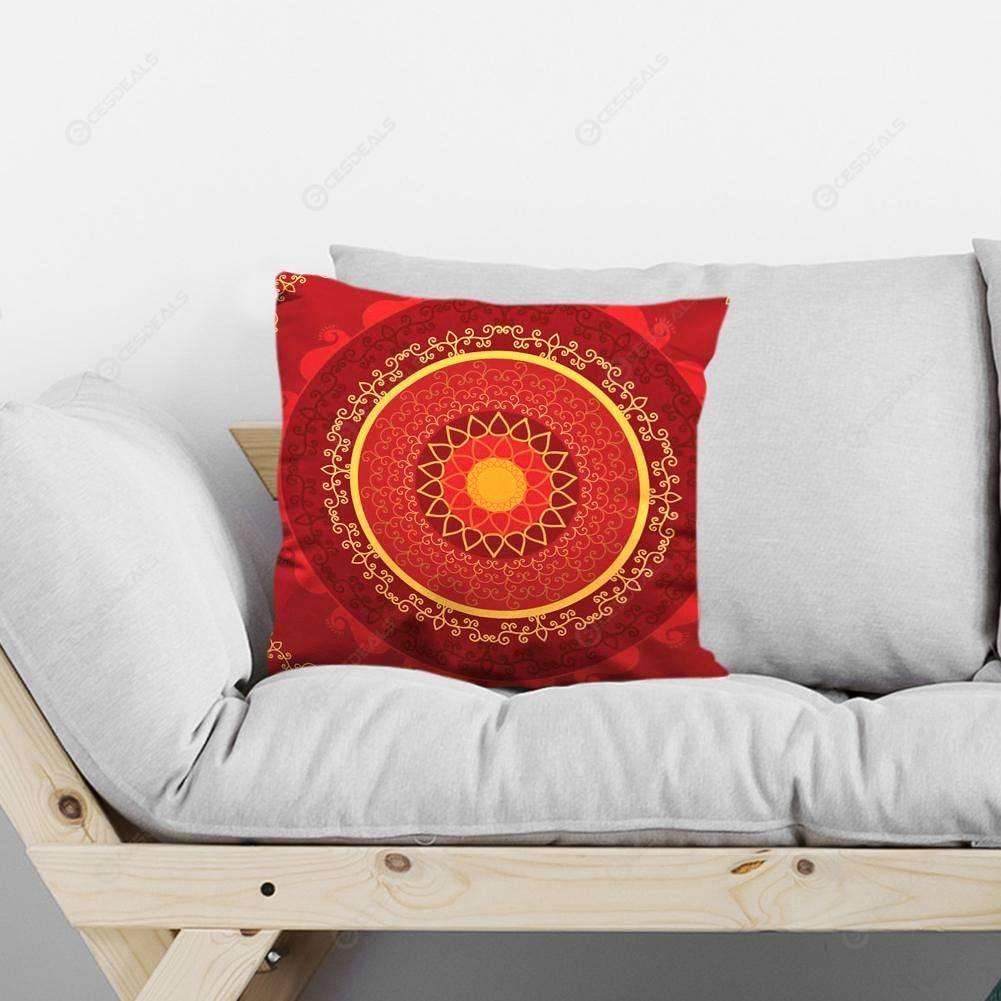Foderare Cuscini Del Divano.Geometria Del Cerchio Stampato Tiro Cuscino Caso Divano Sedia Girovita Fodera Per Cuscino 1