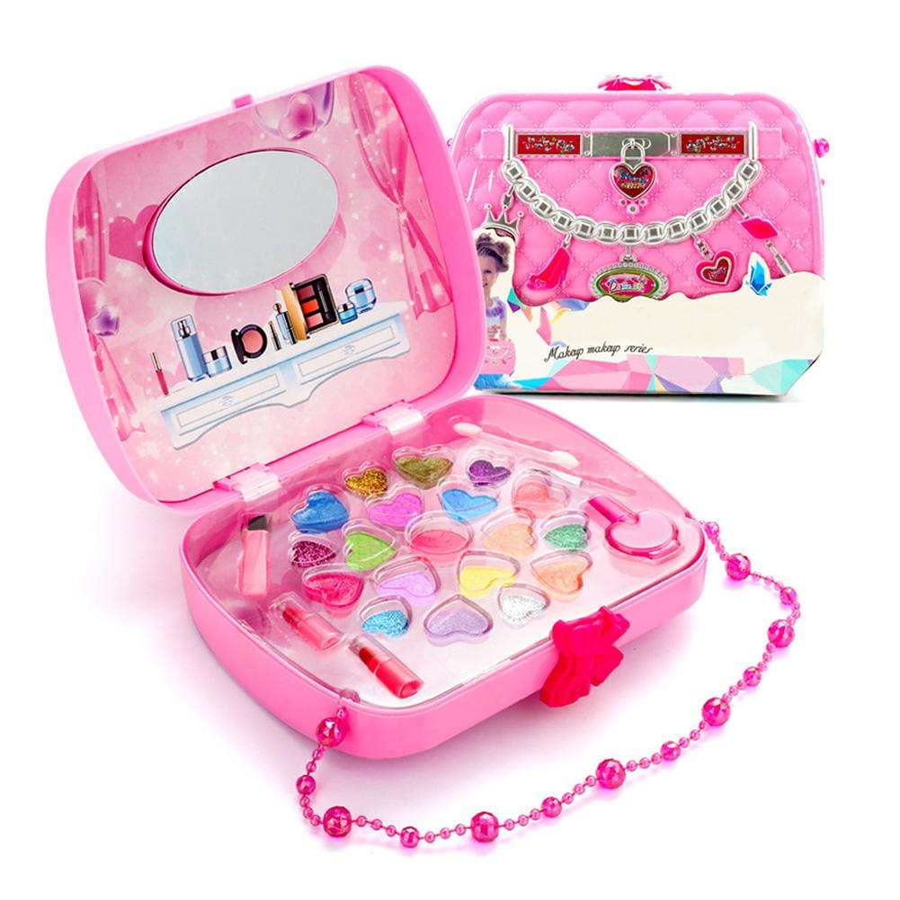Nail Art Kit Boots: Kid Lips Nail Art Pigment Cosmetic Pretend Play Toy Girls