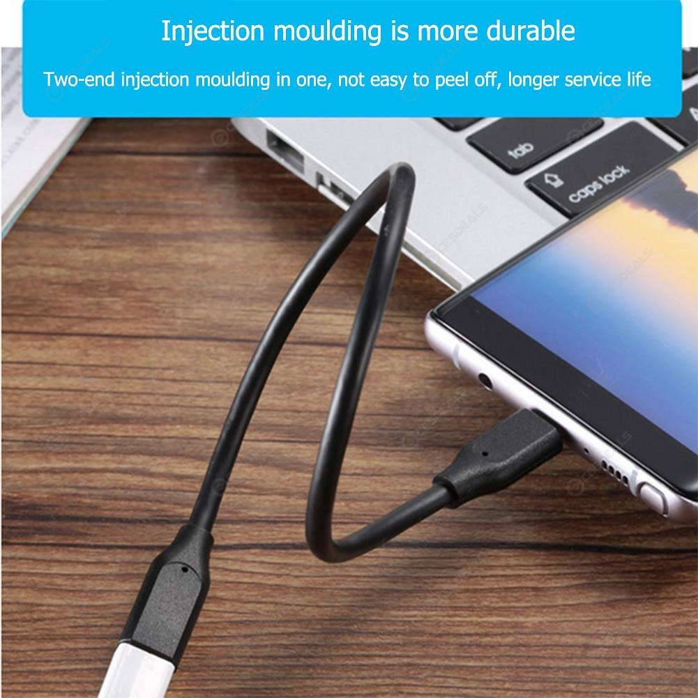 USB-C Extension Cable 30cm Type-C USB 3 1 Male to Female Charging Data Wire
